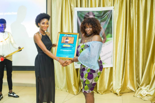 Maame Serwaa Honoured At UCC For Her Diligent Works