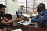 Kwesi Arthur Receives An Expensive Wrist Watch From Bola Ray