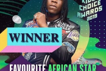 Stonebwoy Wins 'Favorite African Star' At The Nickelodeon Kids Choice Awards
