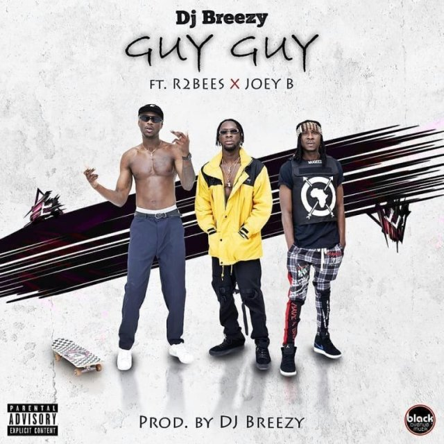 DJ Breezy Ft. R2Bees x Joey B - Guy Guy (Prod by DJ Breezy)