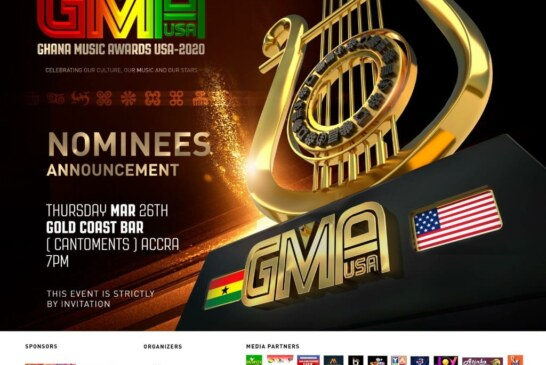 List Of Artists Performing At The Nominees Announcement – Ghana music Awards USA