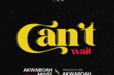 Akwaboah Ft. MzVee – Can't Wait (Prod. By Akwaboah)