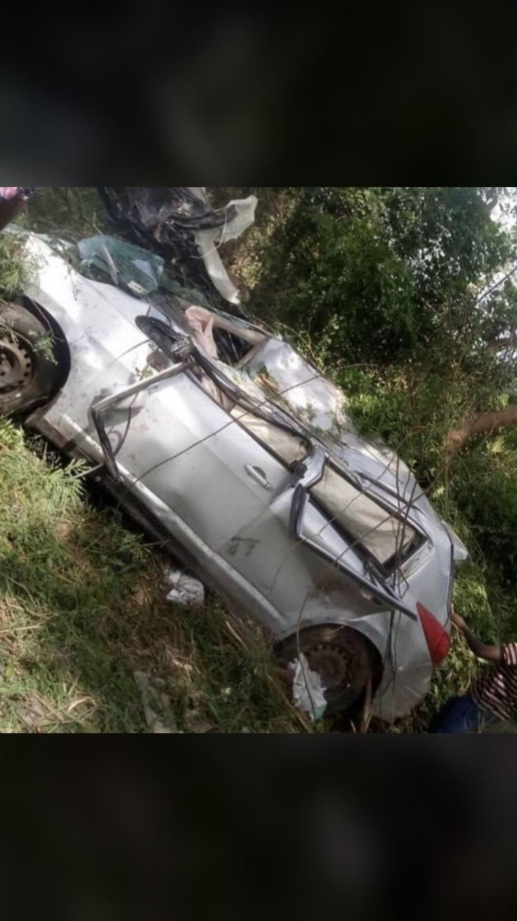 Quamina MP Has Reportedly Been Involved In A Gory Accident On The Road Of Akosombo Today.