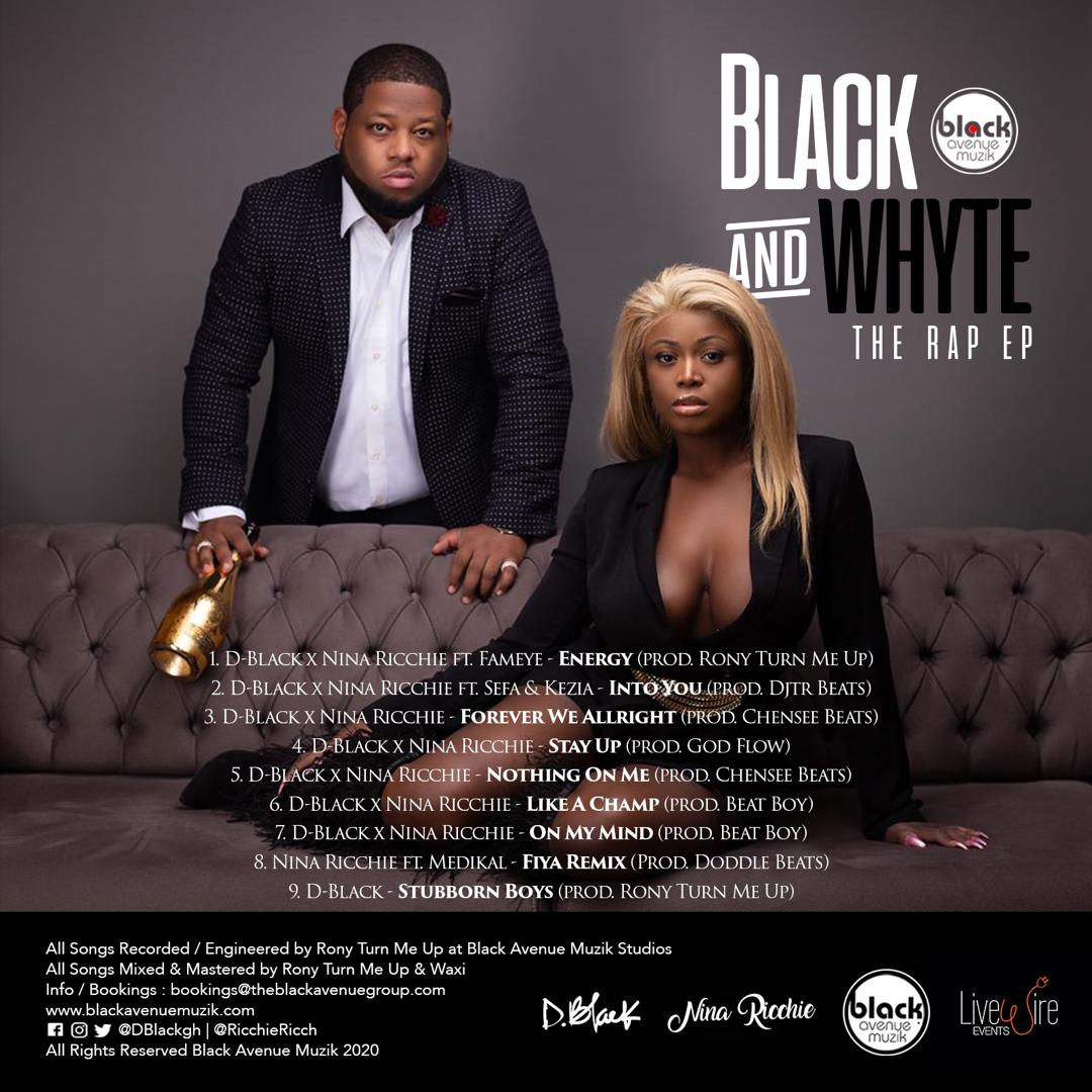 Nina Ricchie & D-Black drop Black & Whyte EP with Video for 'Energy' with Fameye